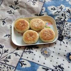 发面芝麻糖饼