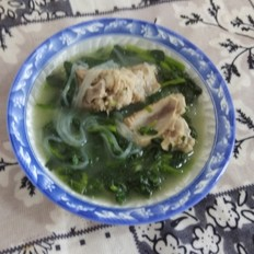 菠菜粉条汤