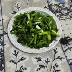 拌香醋菠菜小葱