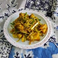 土豆拌黄瓜