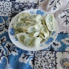 素角瓜韭菜馅水饺