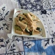 麻酱拌腐竹