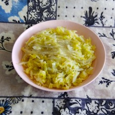 卷心菜炒粉