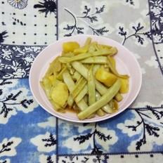 白芸豆炖土豆