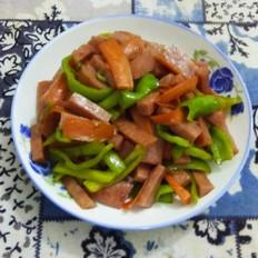 尖椒炒肉肠