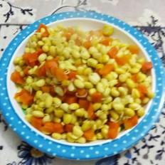 黄豆芽炖胡萝卜