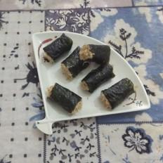 海苔肉松饭卷