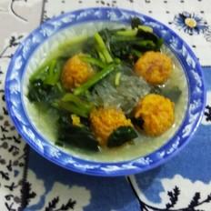 素丸菠菜粉条汤