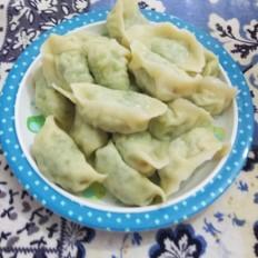 韭菜角瓜水饺