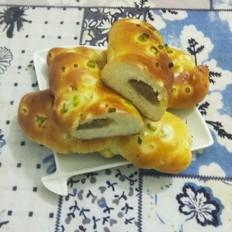 牛肉香肠面包