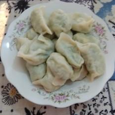 鸡蛋青椒水饺