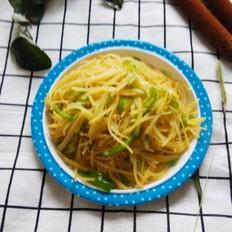 麻椒炒土豆丝