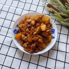 香辣鸡腿炖土豆