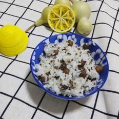 山药三色藜麦米饭