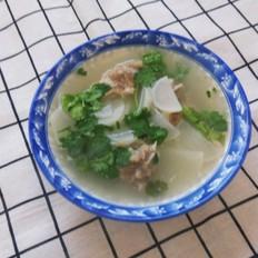 羊骨白萝卜汤