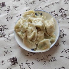 海米虾皮芹菜馅水饺