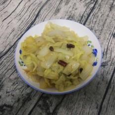 干辣椒炒白菜