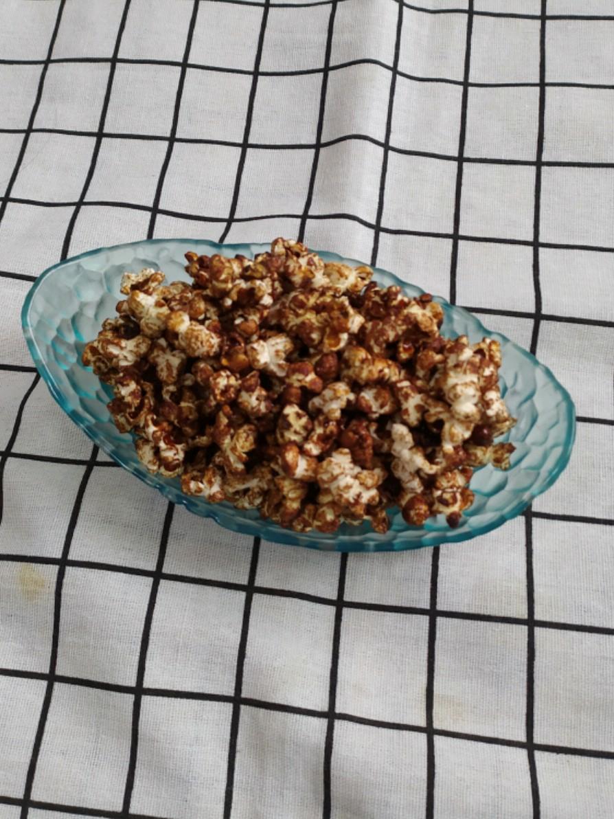 爆巧克力苞米花的做法