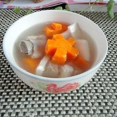 椰子红萝卜排骨汤
