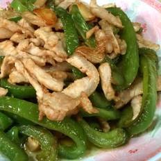 柿子椒炒肉丝