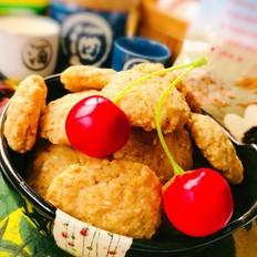 快手小饼干—燕麦芝麻饼干