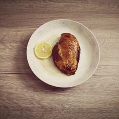 香煎鸡胸肉--减肥期做法