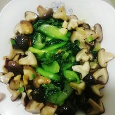 清炒香菇油菜