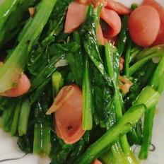 热狗油麦菜