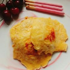燕麦牛奶鸡蛋饼