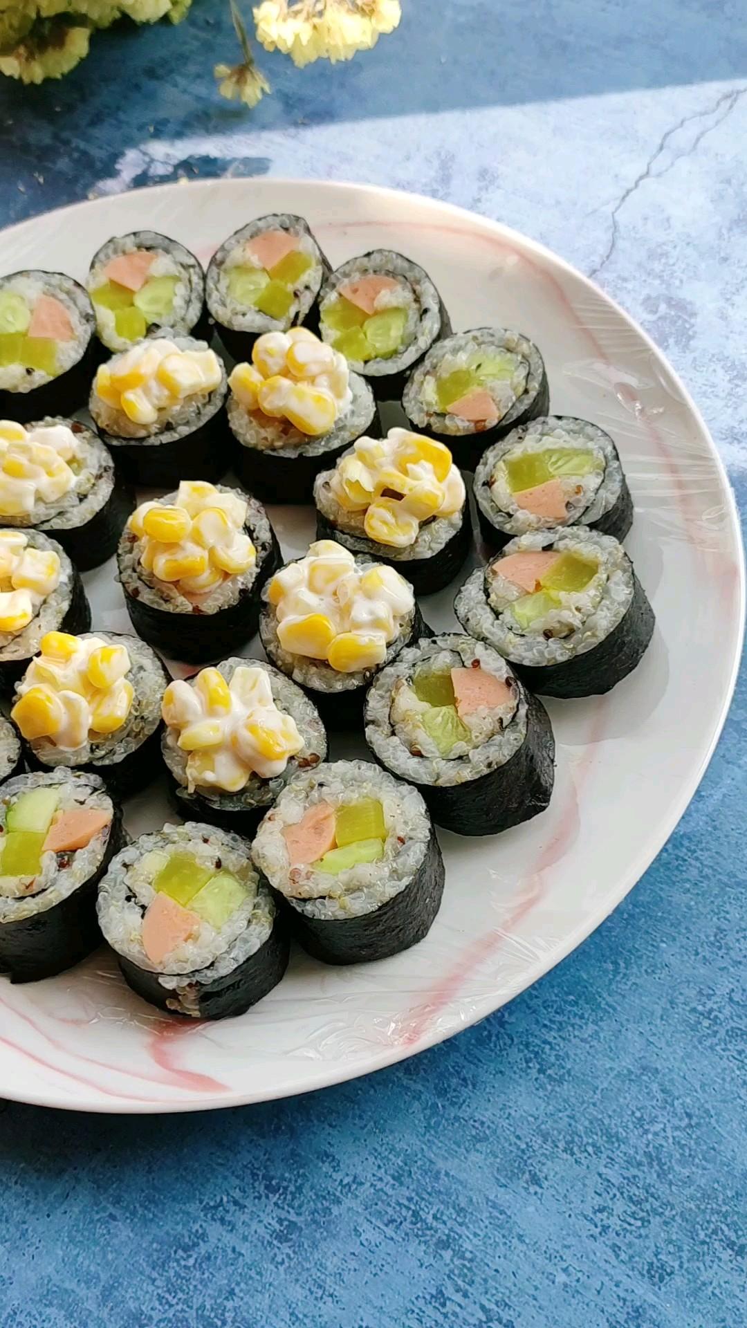 藜麦米寿司