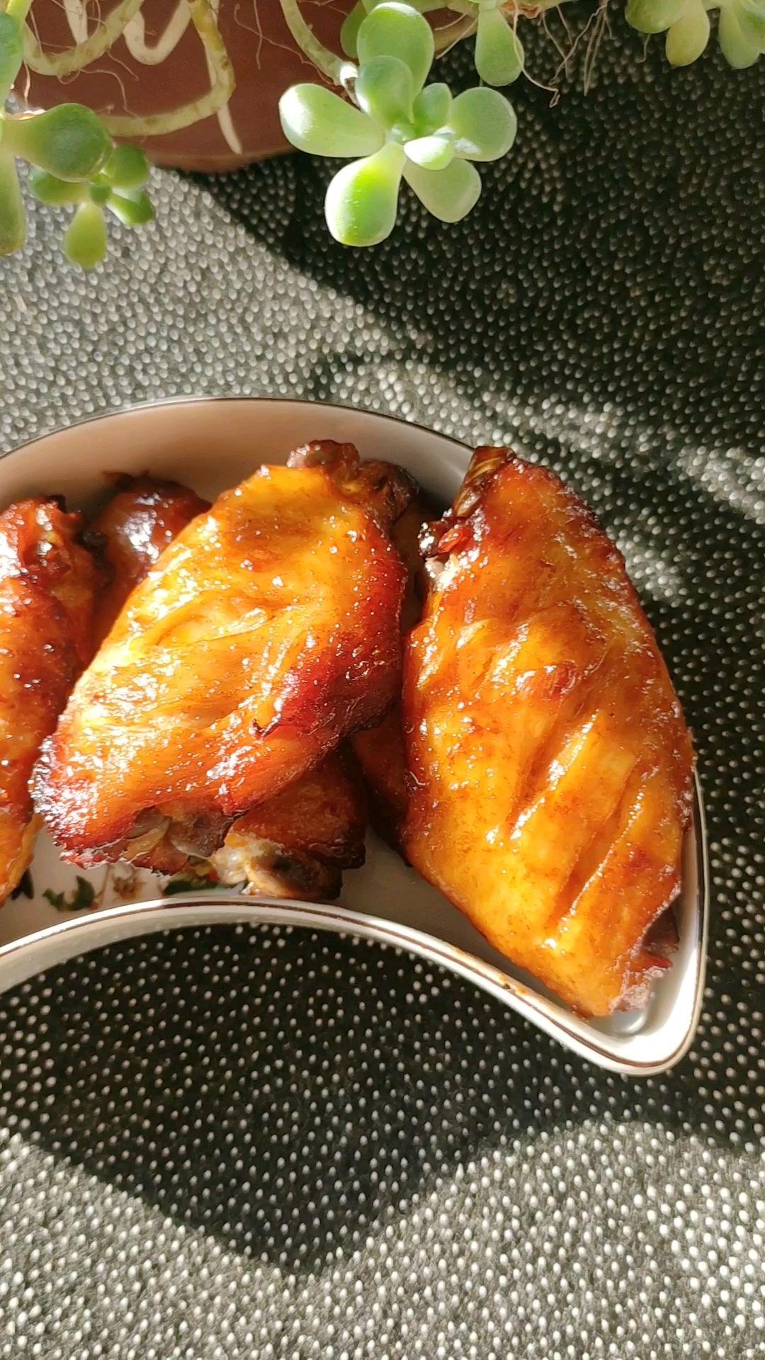 不放一滴油的烤鸡翅