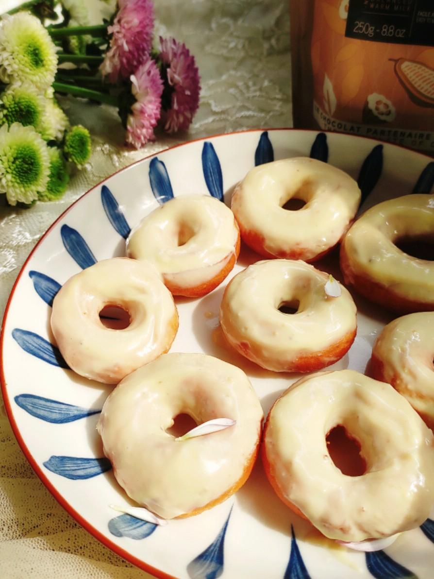 真情告白甜甜圈的做法