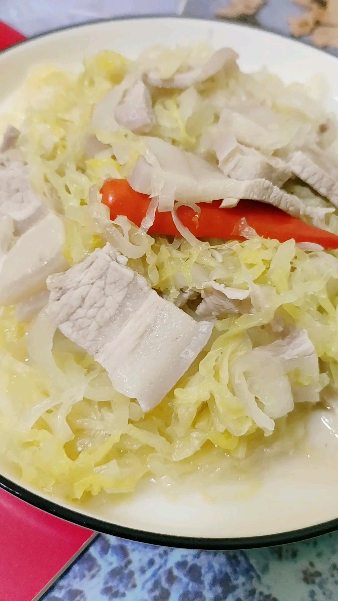 肥而不腻的酸菜川白肉的做法【步骤图】