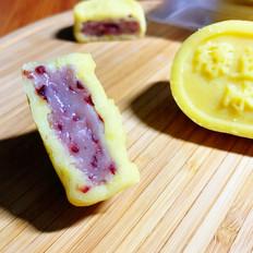 蔓越莓麻薯绿豆糕