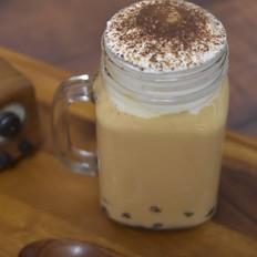 芝士奶盖芋圆焦糖奶茶