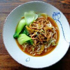 榨菜肉丝汤面