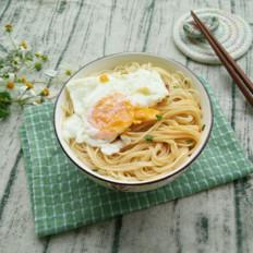 懒人版早餐鸡蛋面条——真正有鸡蛋的鸡蛋面