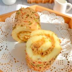 香葱培根肉松卷