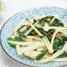 猪油渣小白菜