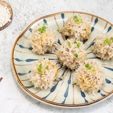 咸蛋黄珍珠丸子