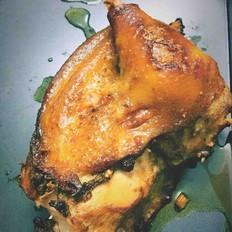 蒜香辣烤鸡