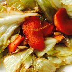 「IVYS」胡萝卜炒卷心菜(好吃入味)「炒锅」