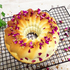 桂花玫瑰蜂蜜蛋糕