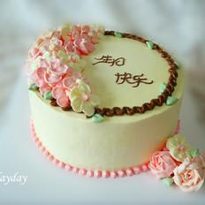 奶油戚风蛋糕