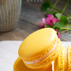 PH柠檬奶油霜马卡龙