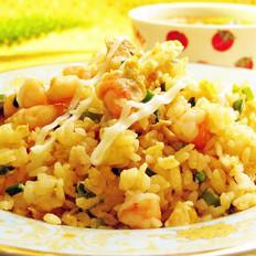 鲜虾蛋炒饭