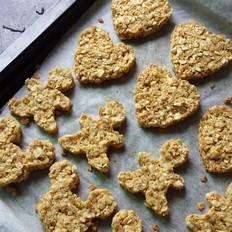 减肥柠檬燕麦饼干