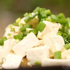 迷迭香美食:小葱拌豆腐
