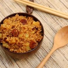 土豆腊肠焖饭-迷迭香