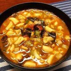 什锦烩麻食